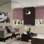 Unique roll – up blinds, curtain rods